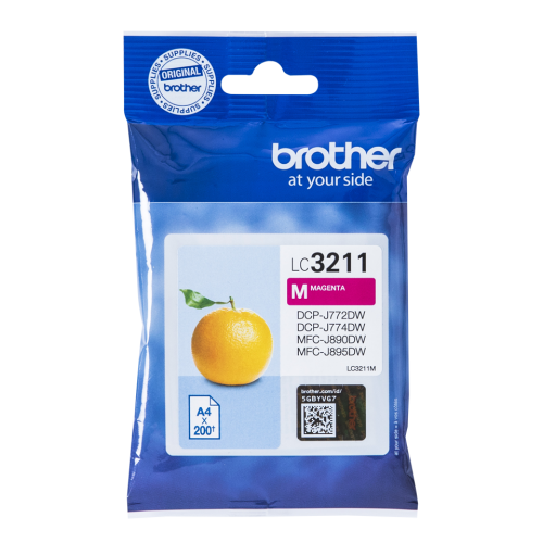 Brother LC3211M Magenta Ink 12ml
