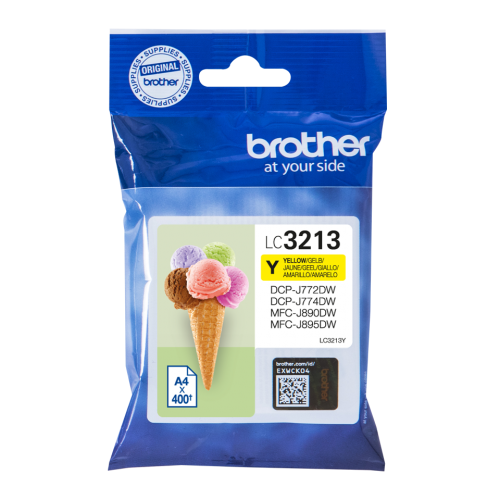 Brother LC3213Y Yellow Ink 10ml