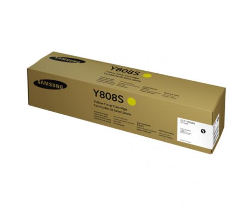 Samsung CLT Y808S Yellow Toner 20K