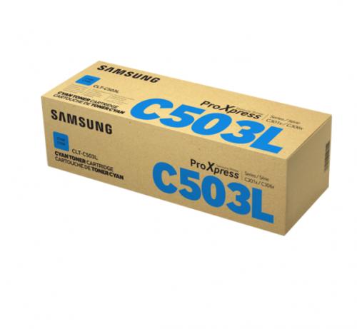 Samsung CLTC503L Cyan Toner Cartridge 5K pages - SU014A