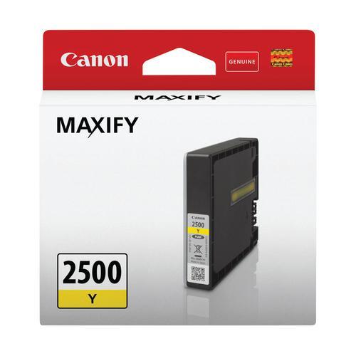 Canon 9303B001 PGI2500Y Yellow Ink Cart