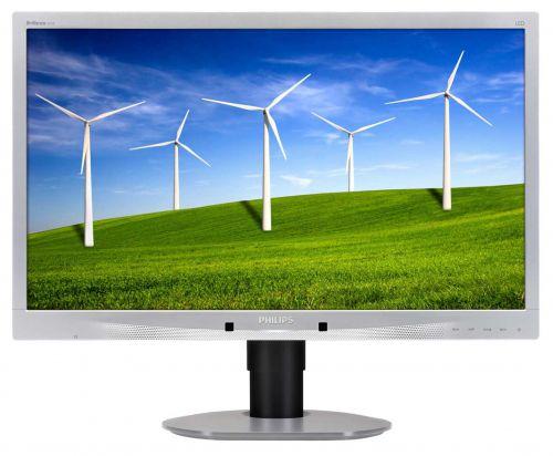 Philips 241B4Lpycs 24In Monitor LED VGA