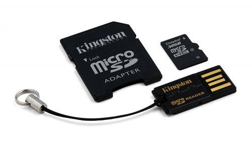 Kingston 32GB Multi Kit Class 4 Micro SD