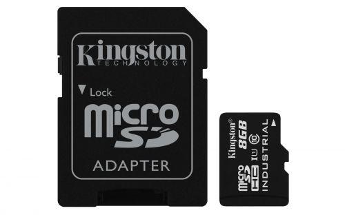 8GB microSDHC UHSI Class 10 SD Adap
