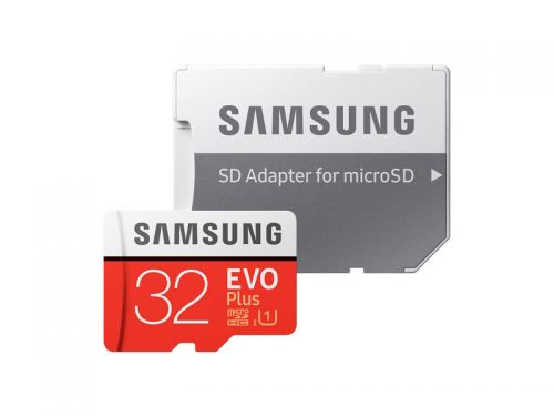 Samsung Flash Card 32GB Evo Plus MicroSD
