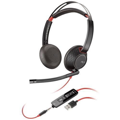 Blackwire C5220 USBA WW Binaural Headset