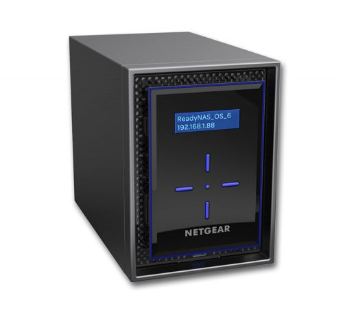 Netgear 24TB ReadyNAS 422 Diskless 2 BAY NAS
