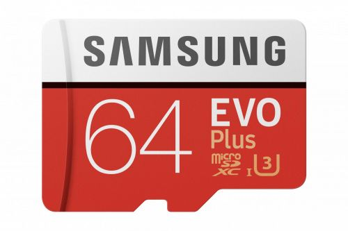 Samsung Flash Card 64GB Evo Plus Micro SD wa