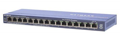 ProSafe FS116P 16 Port Switch with 8xPoE