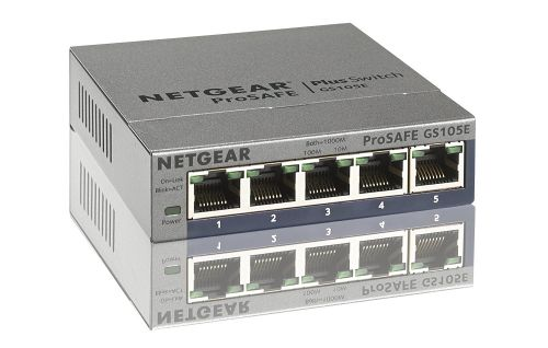 Netgear Prosafe Unmanaged 5 Port Gigabit Plus Switch
