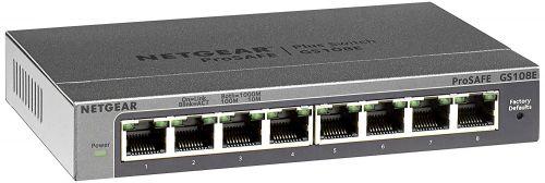 Netgear Unmanaged 8 Port Gigabit Plus Switch