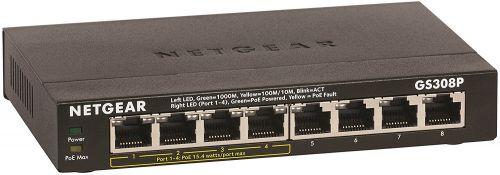 GS308P 8 Port Unmanaged Gbit PoE Switch