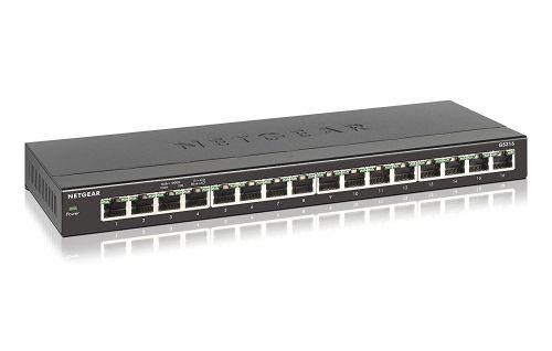 Netgear Unmanaged 16 Port Gigabit Ethernet Switch