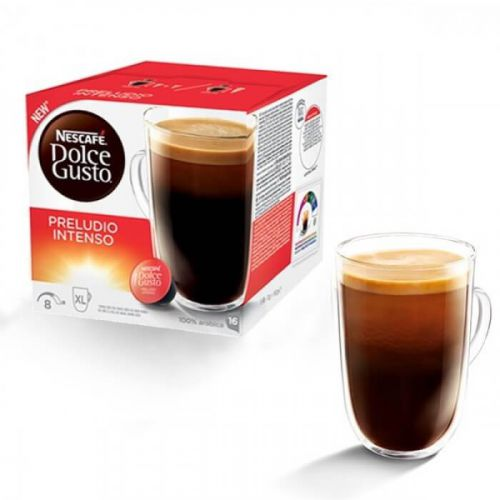 Nescafe Dolce Gusto Intenso Capsules 12323831 Packed 48 (3x16 Capsules  = 48 drinks)