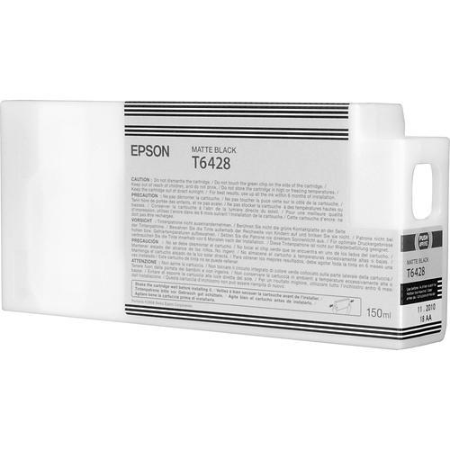 Epson T6248 UltraChrome K3 Ink Cartridge - 150ml (Matte Black) for Epson Stylus Pro 7700/9700 C13T642800