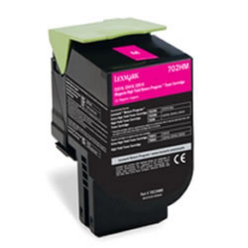 OEM Lexmark 70C2XME Magenta 4000 Pages Original Toner