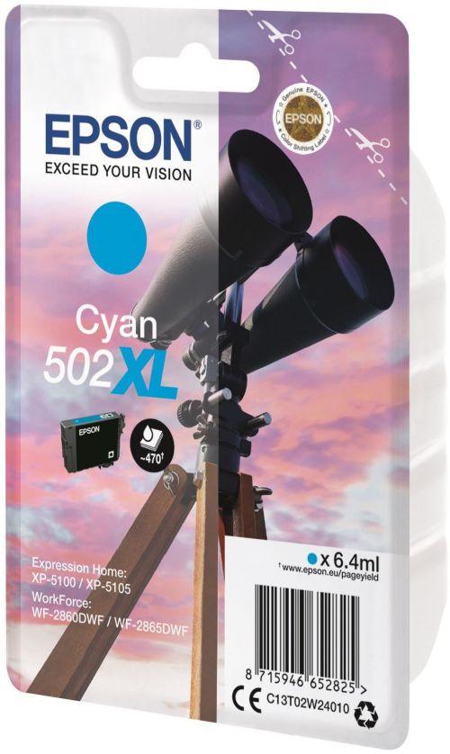Epson C13T02W24010 502XL Cyan Ink 6ml