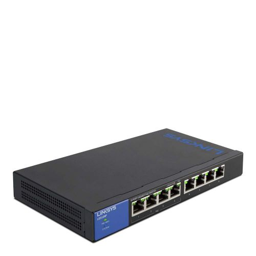 Linksys 1GB Unmanaged PoE 8 Port Switch