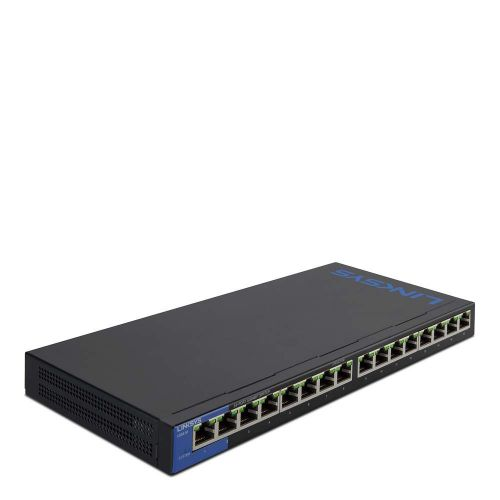 Linksys 1GB Unmanaged PoE 16 Port 125w