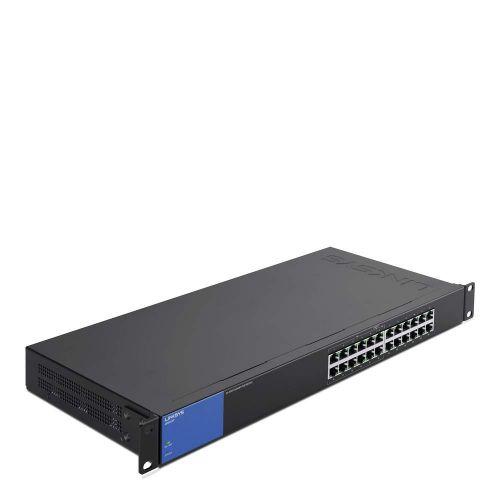 Linksys 1GB Unmanaged Switch PoE 24 Port Switch