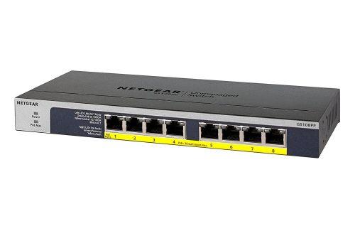Netgear Unmanaged 8 Port PoE Gigabit Network Switch