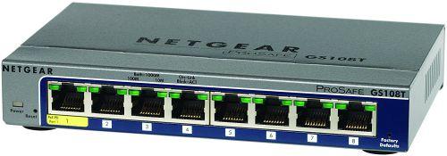 Netgear Gigabit Managed 8 Port Smart Sw
