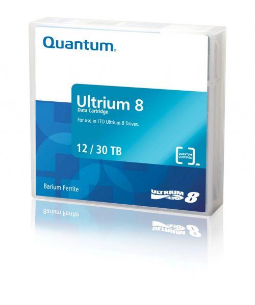 Quantum LTO-8 Ultrium Blank Data Cartridge 12TB Native / 22.5TB Compressed (Pack of 20)