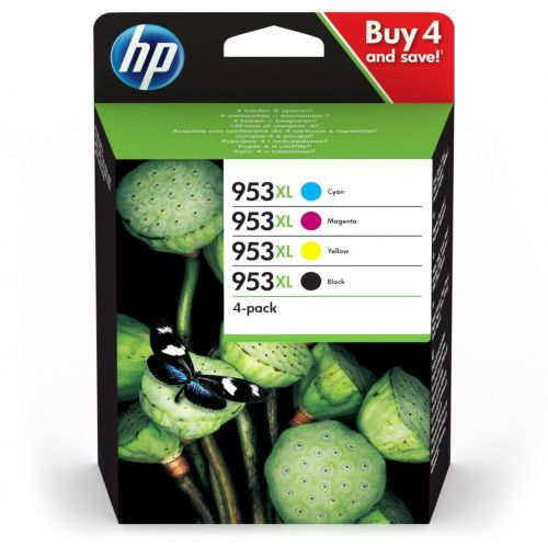 HP 3HZ52AE 953XL Ink Multipack 42.5ml and 3x 20.5ml