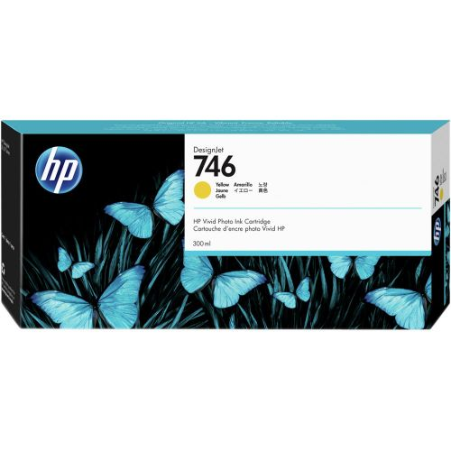 HP P2V79A 746 Yellow Ink 300ml