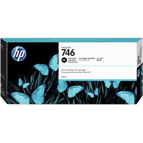 HP 746 Photo Black Standard Capacity Ink Cartridge - P2V82A