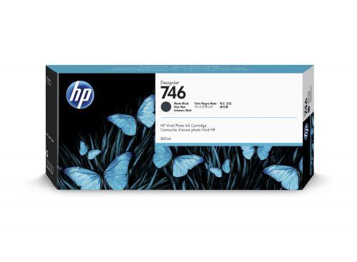 HP P2V83A 746 Matte Black Ink 300ml