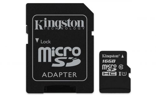 Kingston FC 16GB CL10 UHS 1 Micro SD HC AD