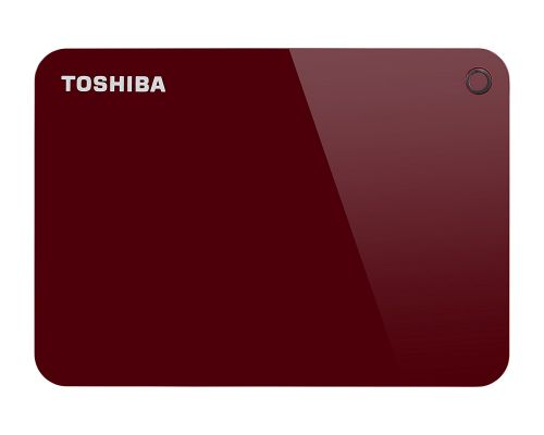 Toshiba 2TB Canvio Advance Red USB3 External HDD
