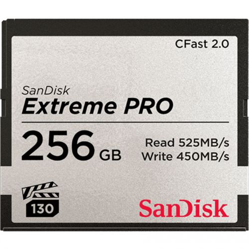 Sandisk Extreme Pro 256GB CFast 2.0 Memory Card