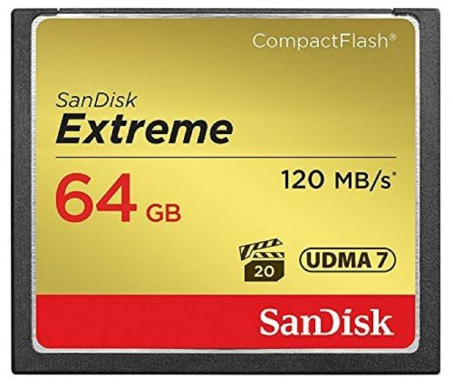 Sandisk Extreme Compact Flash 64GB