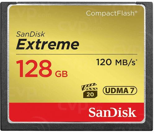 Sandisk CF Extreme 128GB CompactFlash
