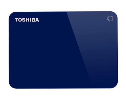 Toshiba External 2TB Canvio Advance Blue HDD