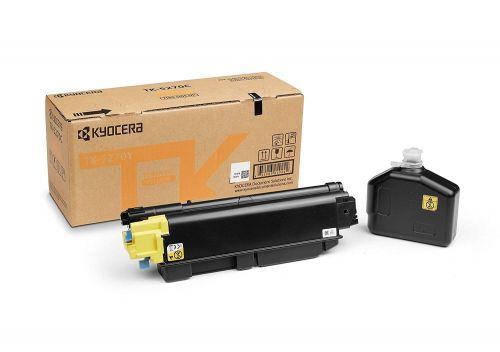 Kyocera 1T02TVANL0 TK5270Y Yellow Toner 6K