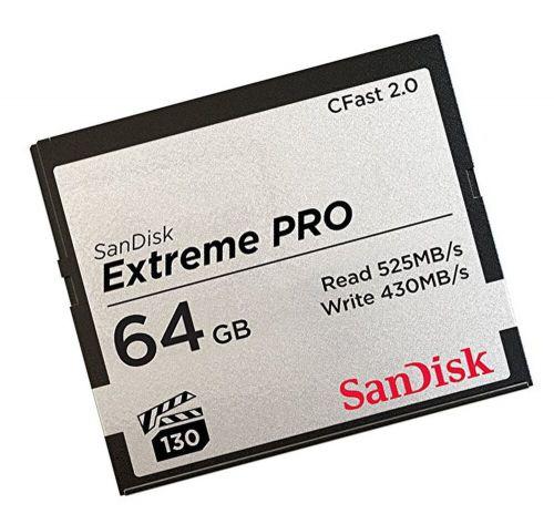 64GB Extreme Pro CFast 2.0 64GB