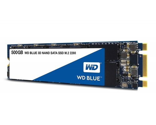 WD Blue 500GB 3D NAND SATA III M.2 Solid State Drive