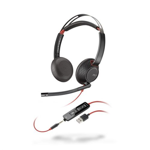 Plantronics Blackwire 5220 Binaural Headset