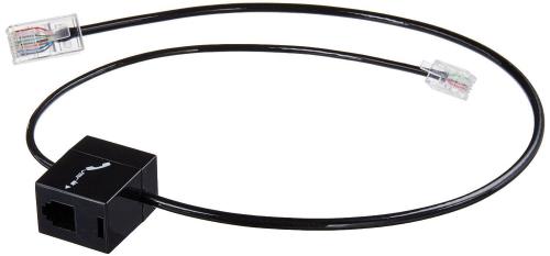 Plantronics Spare Cable Telephone Interface Black