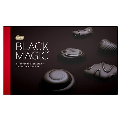 Black Magic Dark Chocolate Box (Pack 348g) 12445817