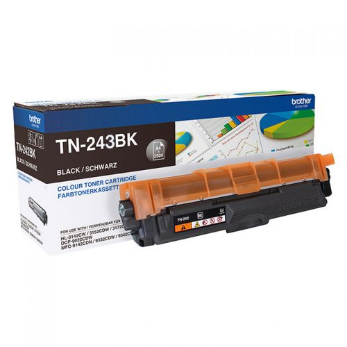 Brother TN243BK Black Toner 1K