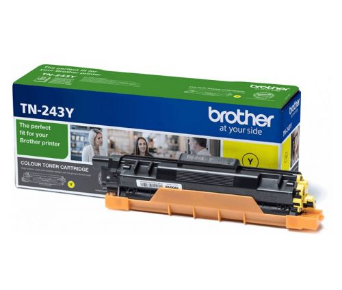 Brother TN243Y Yellow Toner 1K