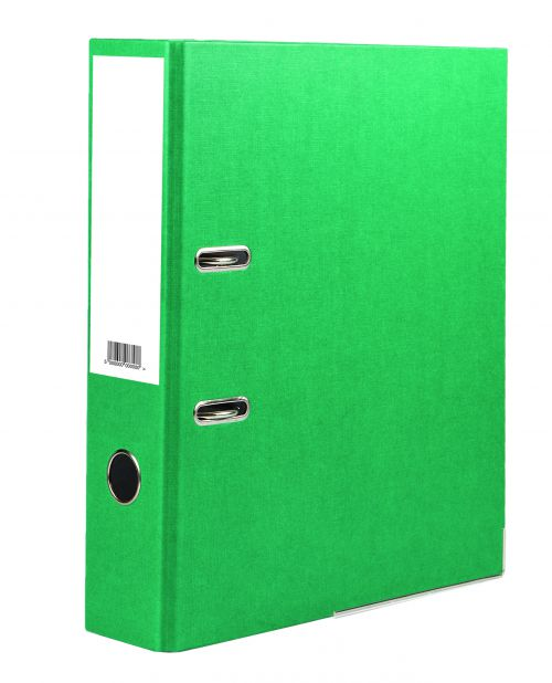 Value Lever Arch File A4 Green