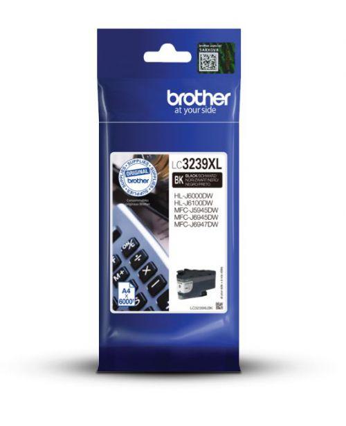 Brother LC3239XLBK Black Ink 128ml