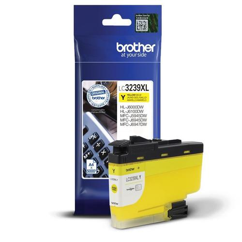 Brother LC3239XLY Yellow Ink 50ml