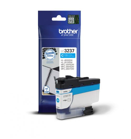Brother LC3237C Cyan Ink 16ml