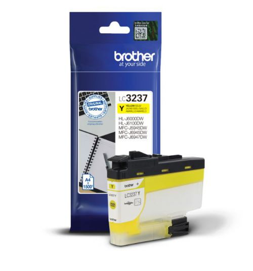 Brother LC3237Y Yellow Ink 16ml